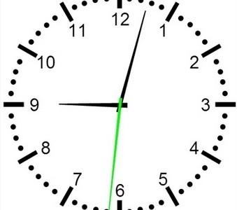 HTML5 часы с использованием Canvas