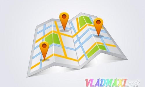 карта мира psd формата скачать