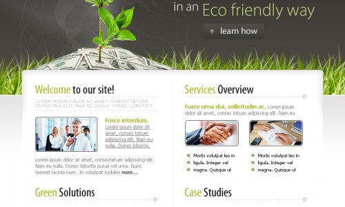 psd макет сайта для бизнеса скачать