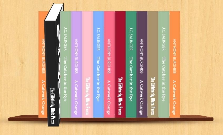 создание 3d книг