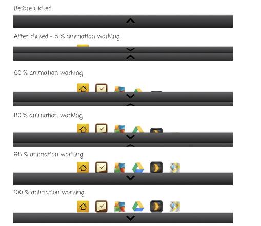 горизонтальное меню JQuery, jquery меню для сайта