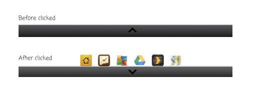 jquery меню в стиле Android