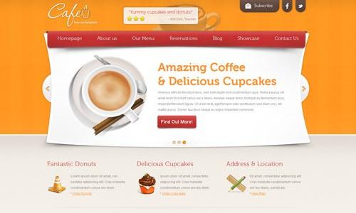 готовый html макет сайта