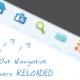Выдвигающееся меню навигации на JQuery