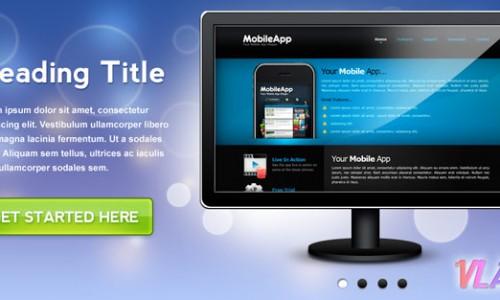 универсальный слайдер для сайта в формате psd