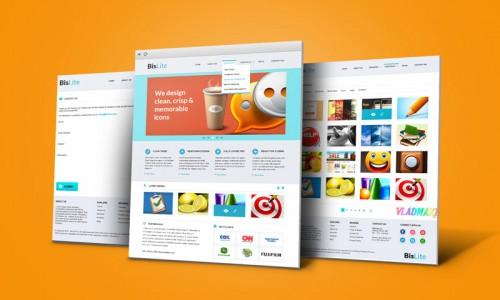 предсмотр макета сайта для бизнеса