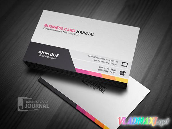 корпоративная визитка - скачать исходник