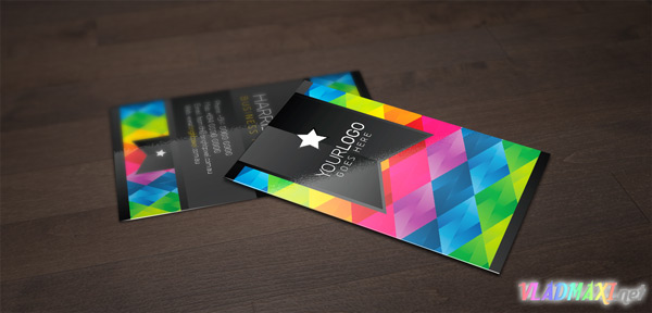 card-business-coloful