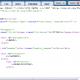 Редактор шаблонов html