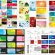 Простые шаблоны визиток