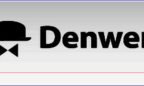 создание сайта на денвере